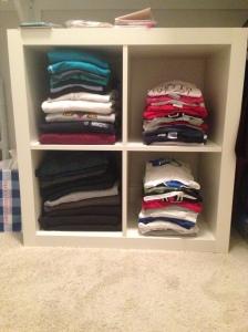 closet shelves
