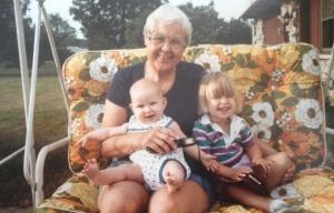 Grandma Helen with Erin and Me