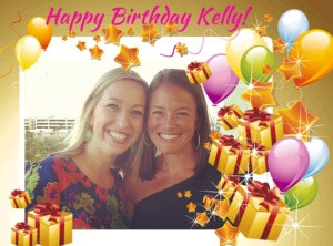 Happy birthday Kelly