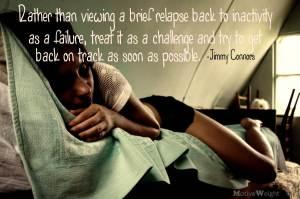Motivation to get back on track