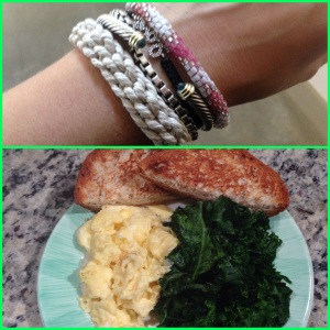Breakfast and bracelet