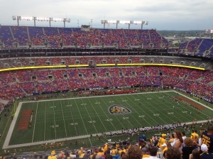 Maryland Football Game 1