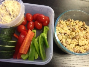 Clean eating lunch