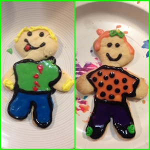 His and Hers Gingerbread People