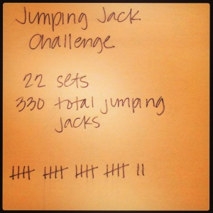 Wednesday Challenge_Jumping Jacks