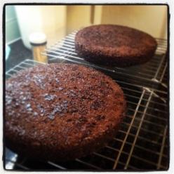 Cake before
